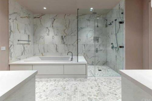 build-your-dream-bathroom-plumbing-shower-doors-custom-cabinets-mosaictile-slab-calacatta-quartz-design-concept-to-completion-2